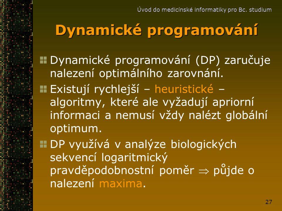 Dynamické programování