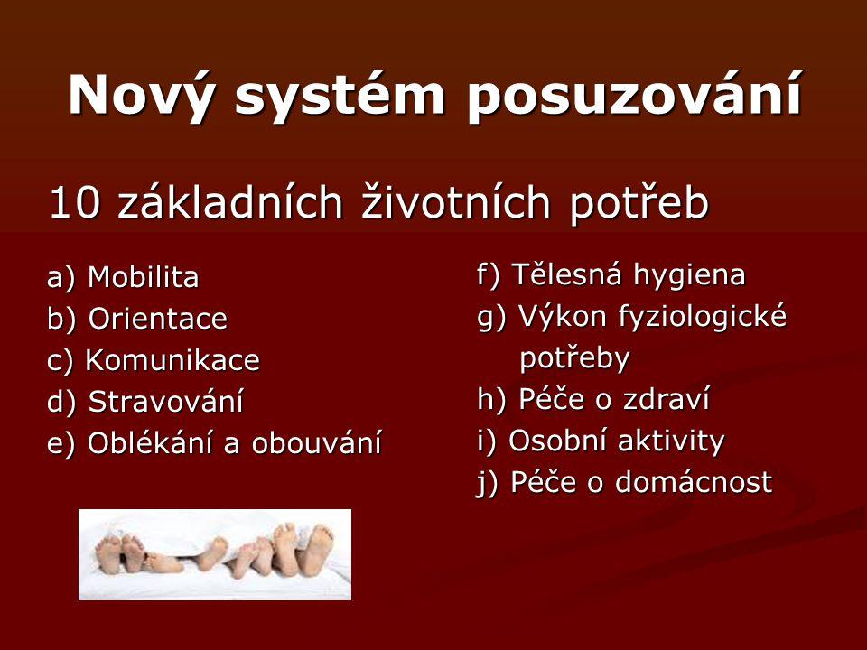 Nový systém posuzování