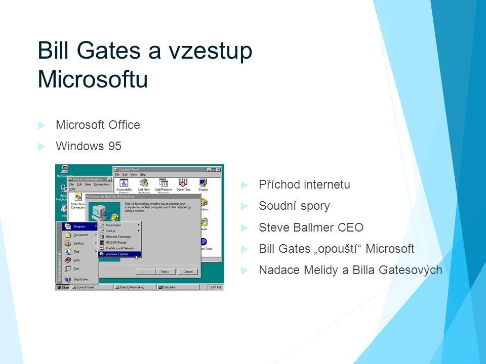 Bill Gates a vzestup Microsoftu