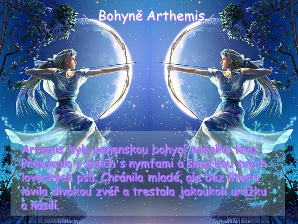 Bohyně Arthemis