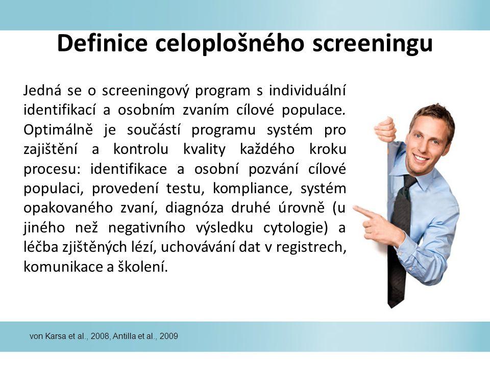 Definice celoplošného screeningu