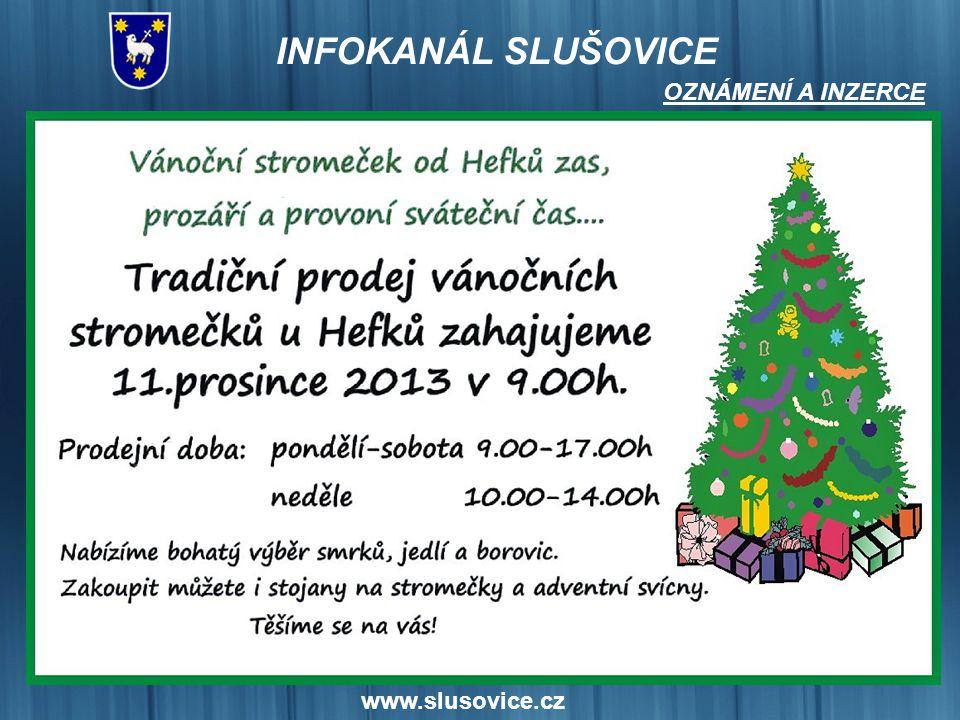OZNÁMENÍ A INZERCE www.slusovice.cz 17