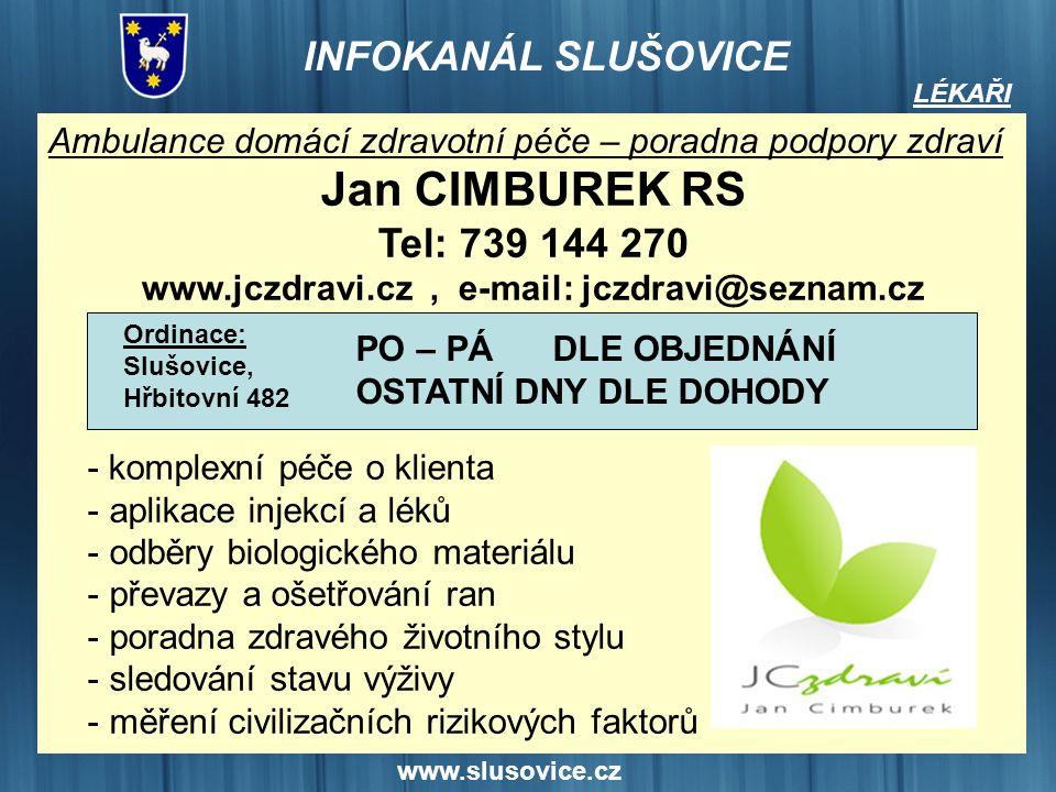 www.jczdravi.cz , e-mail: jczdravi@seznam.cz