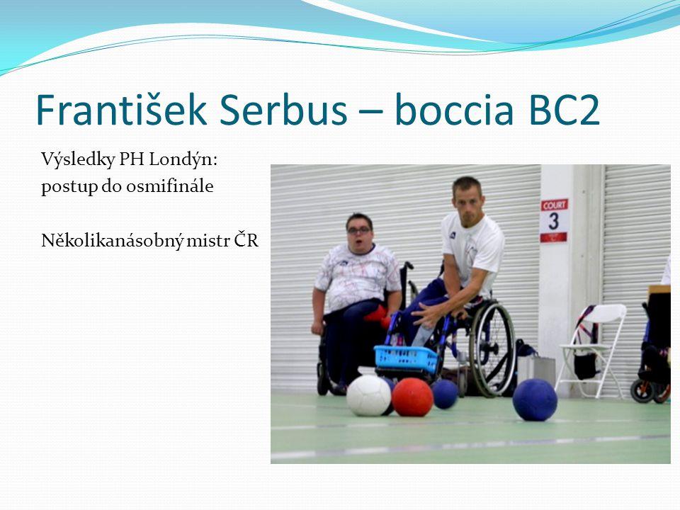 František Serbus – boccia BC2