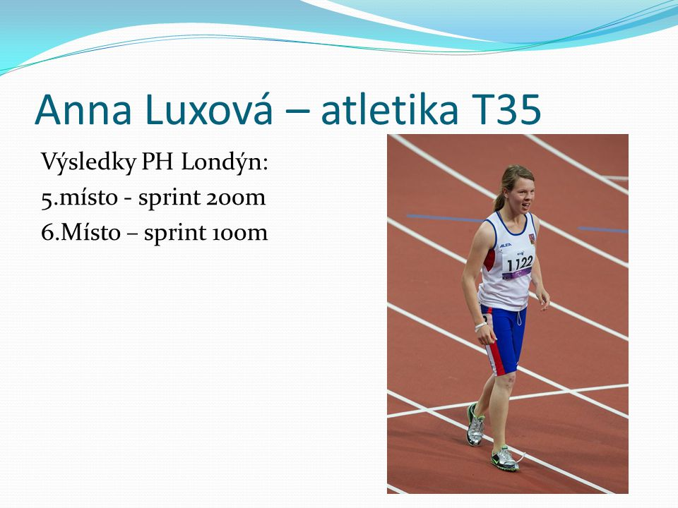 Anna Luxová – atletika T35