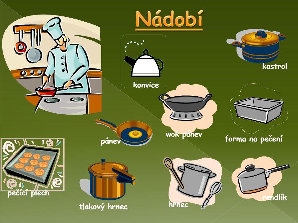 Nádobí kastrol konvice wok pánev forma na pečení pánev pečící plech