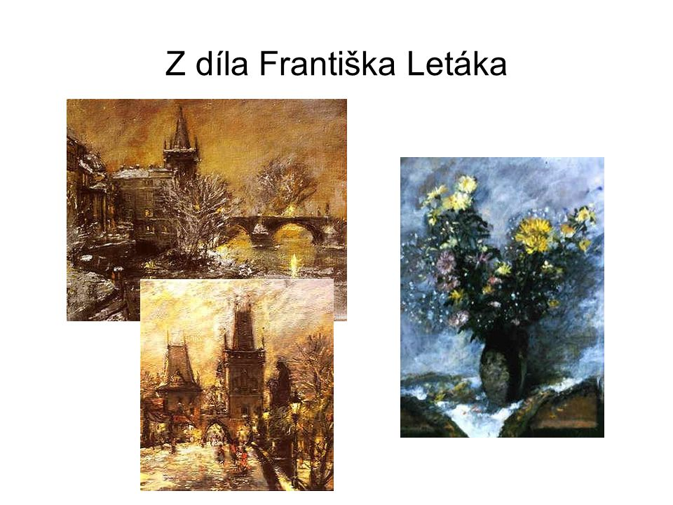 Z díla Františka Letáka