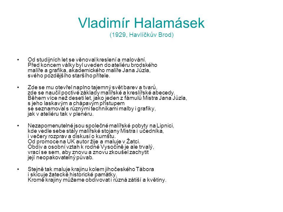 Vladimír Halamásek (1929, Havlíčkův Brod)