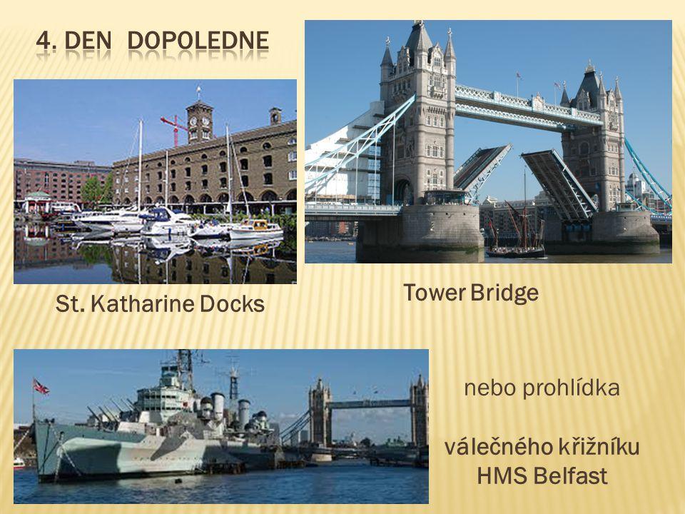 válečného křižníku HMS Belfast