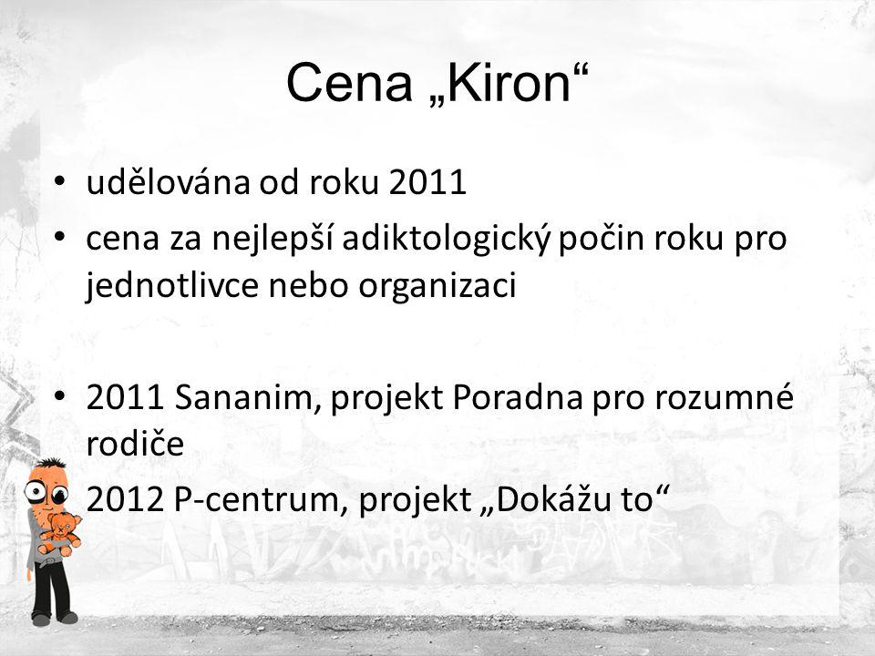 """Cena """"Kiron udělována od roku 2011"""