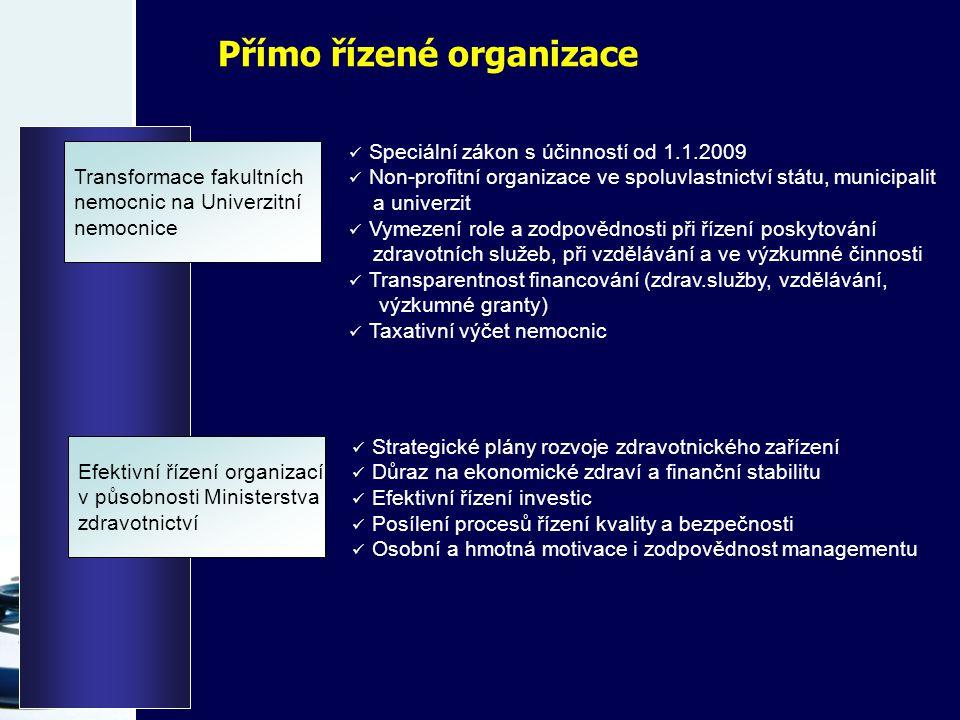 Přímo řízené organizace