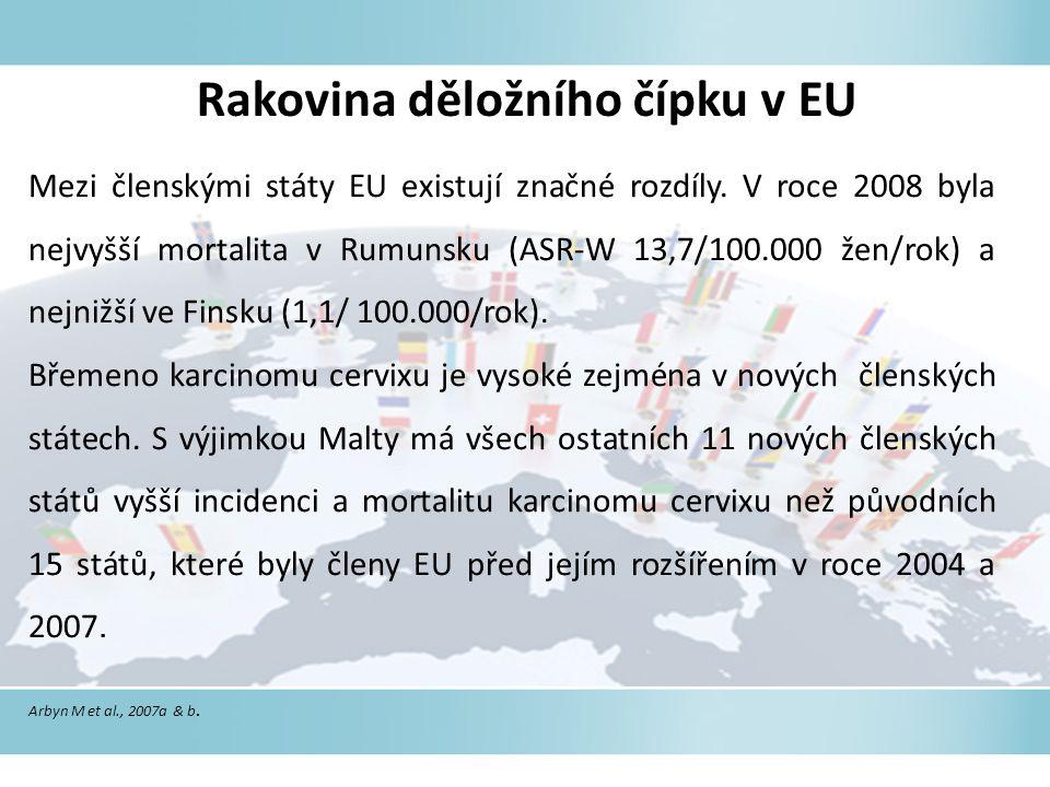 Rakovina děložního čípku v EU