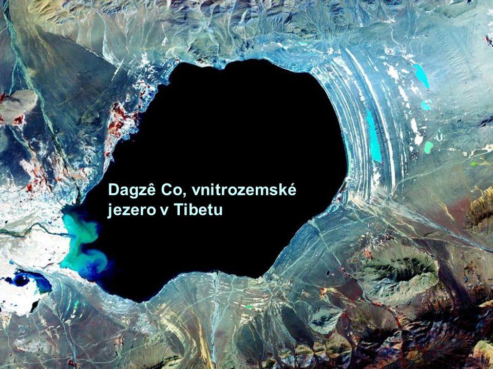 Dagzê Co, vnitrozemské jezero v Tibetu
