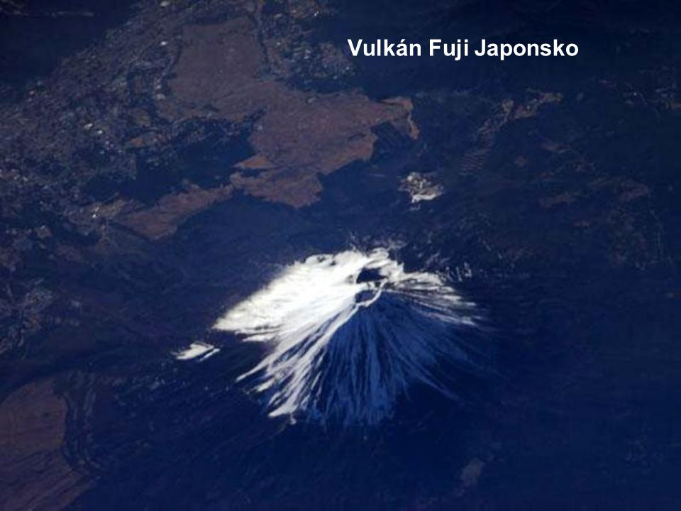 Vulkán Fuji Japonsko