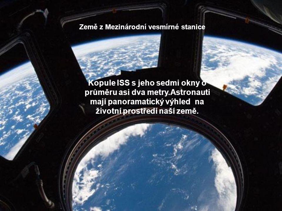 Země z Mezinárodní vesmírné stanice