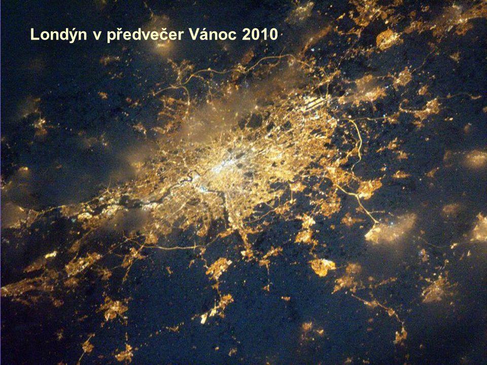 Londýn v předvečer Vánoc 2010