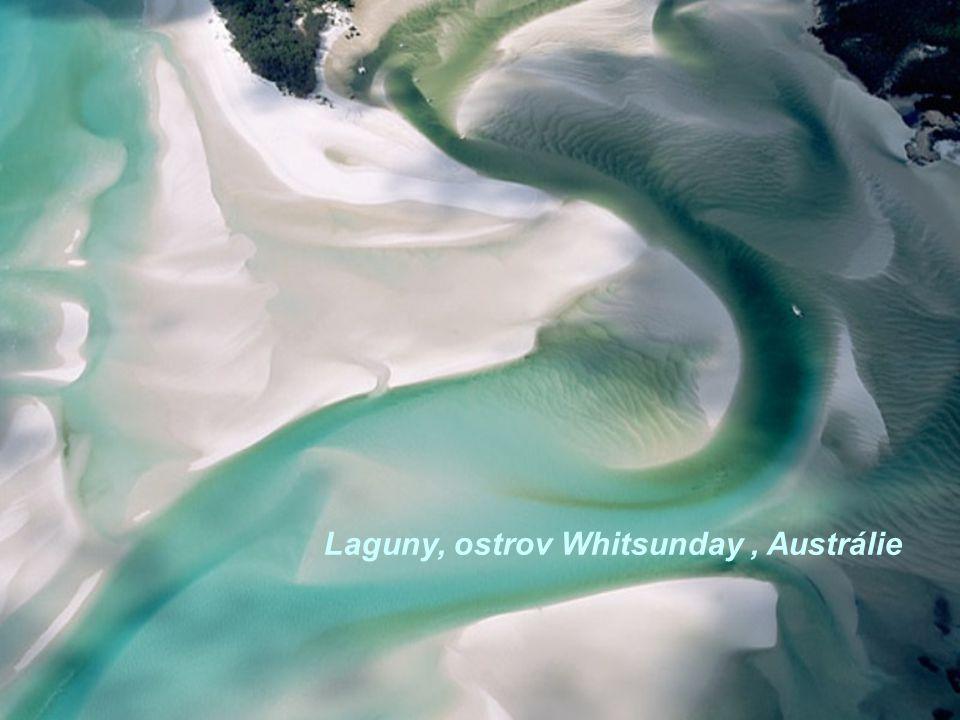 Laguny, ostrov Whitsunday , Austrálie