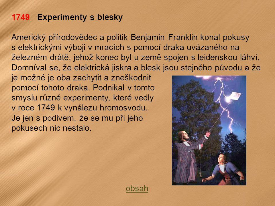 1749 Experimenty s blesky
