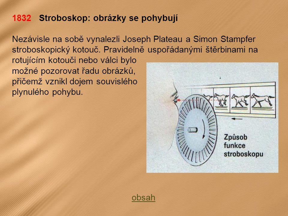 1832 Stroboskop: obrázky se pohybují
