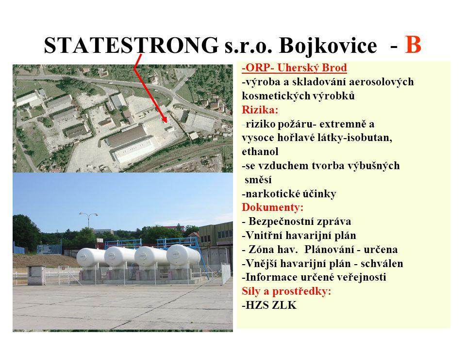 STATESTRONG s.r.o. Bojkovice - B
