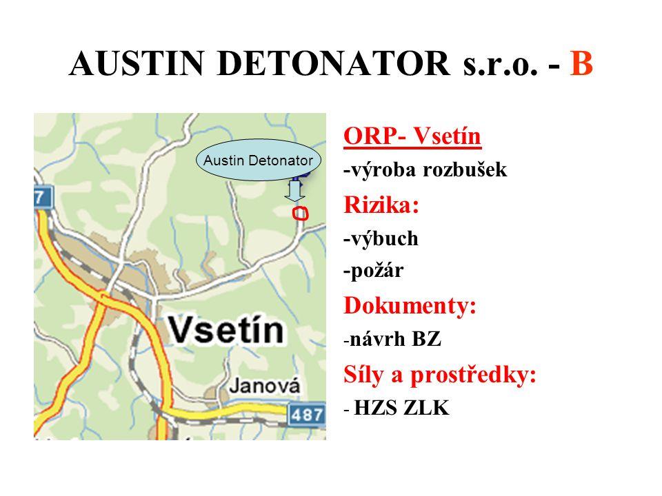 AUSTIN DETONATOR s.r.o. - B