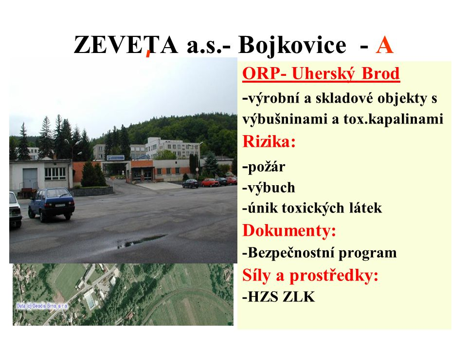 ZEVETA a.s.- Bojkovice - A