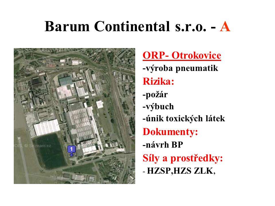 Barum Continental s.r.o. - A