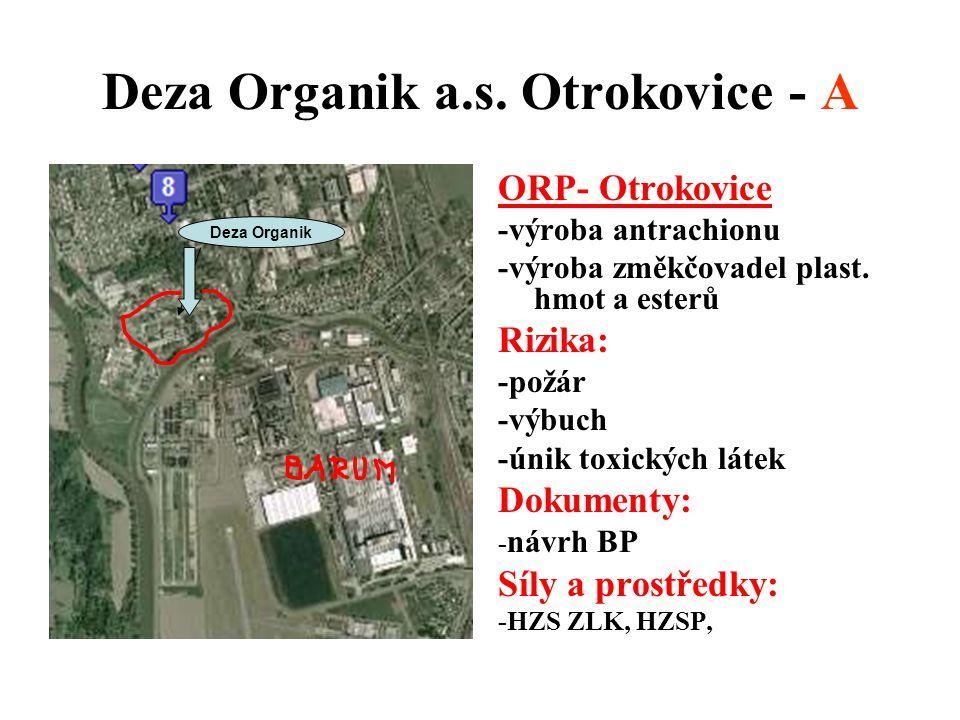 Deza Organik a.s. Otrokovice - A