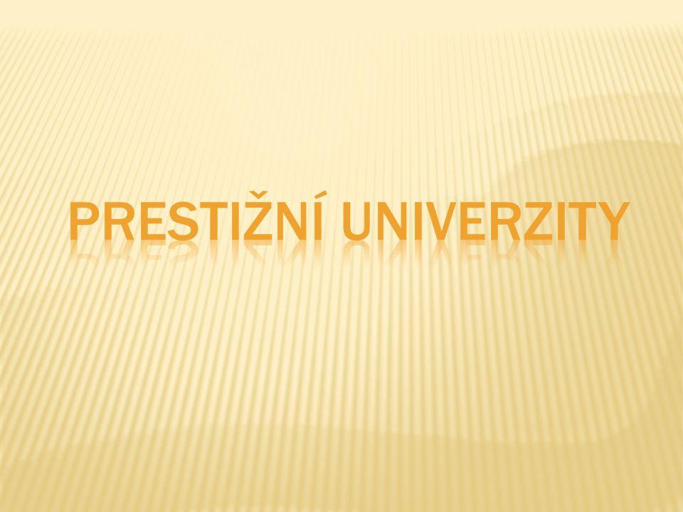 Prestižní univerzity
