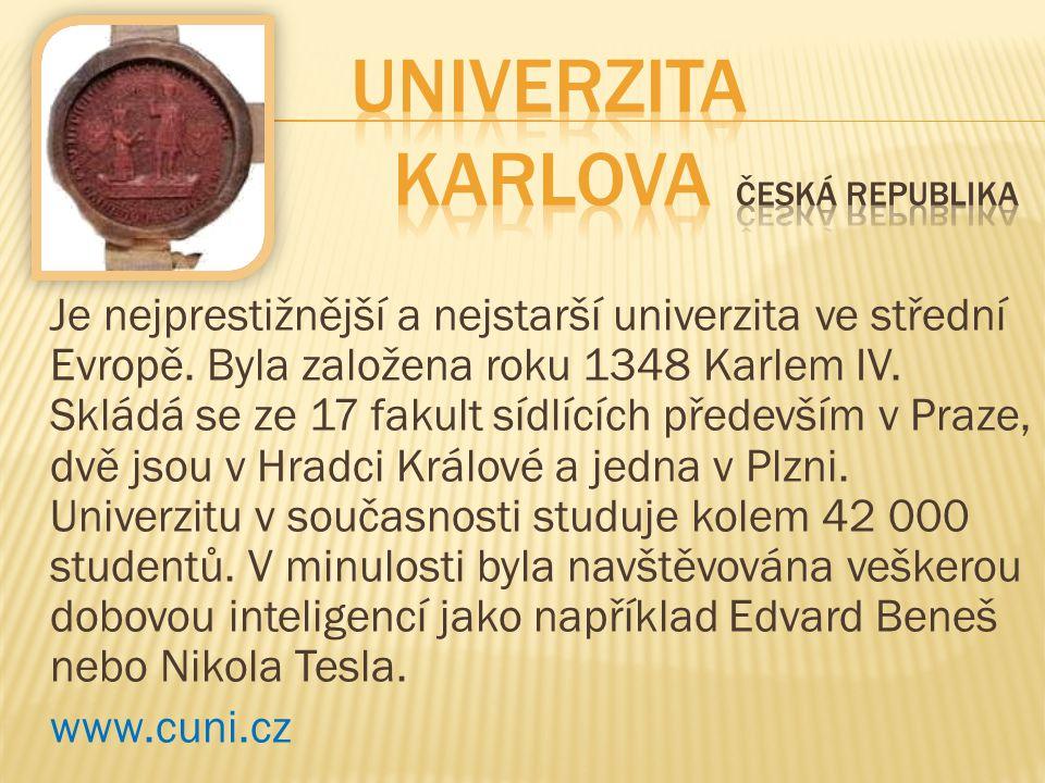 Univerzita Karlova Česká republika
