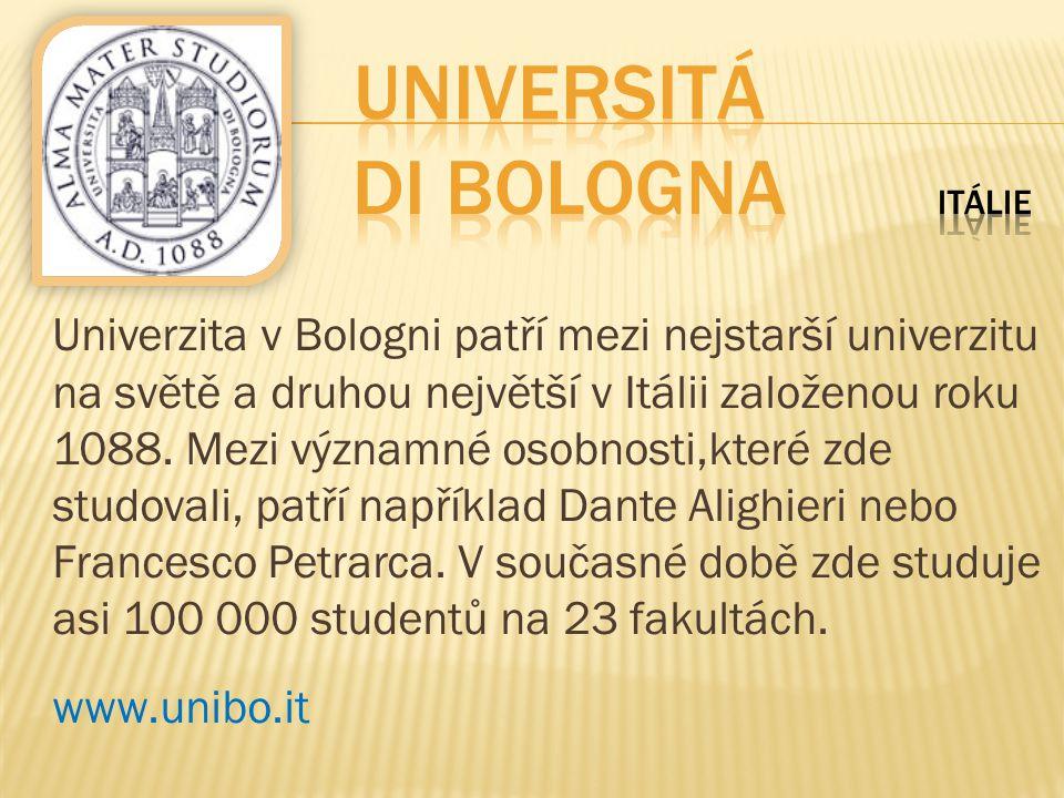Universitá di Bologna Itálie
