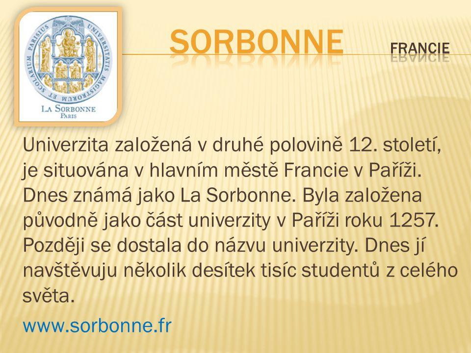 Sorbonne Francie