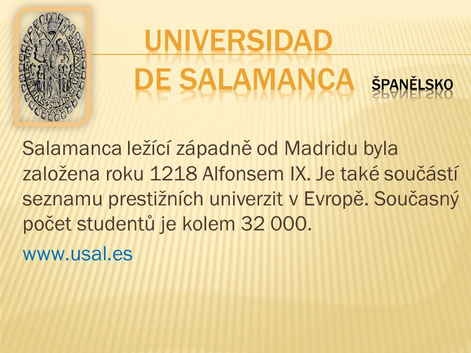 Universidad de Salamanca Španělsko