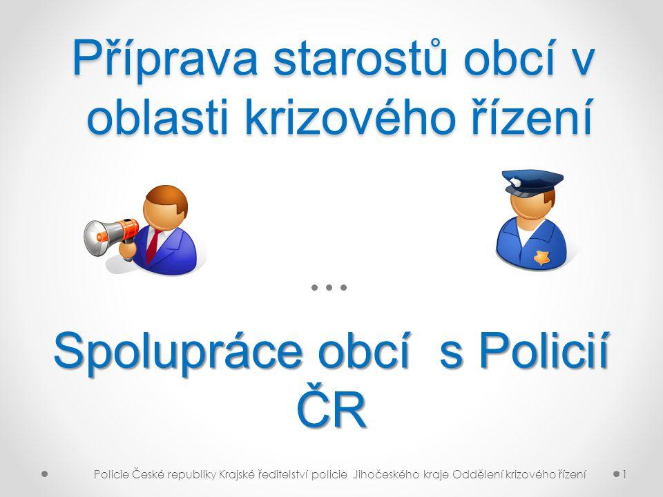 Příprava starostů obcí v oblasti krizového řízení