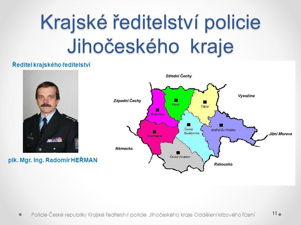 Krajské ředitelství policie Jihočeského kraje