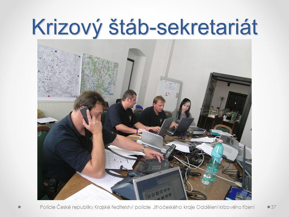 Krizový štáb-sekretariát