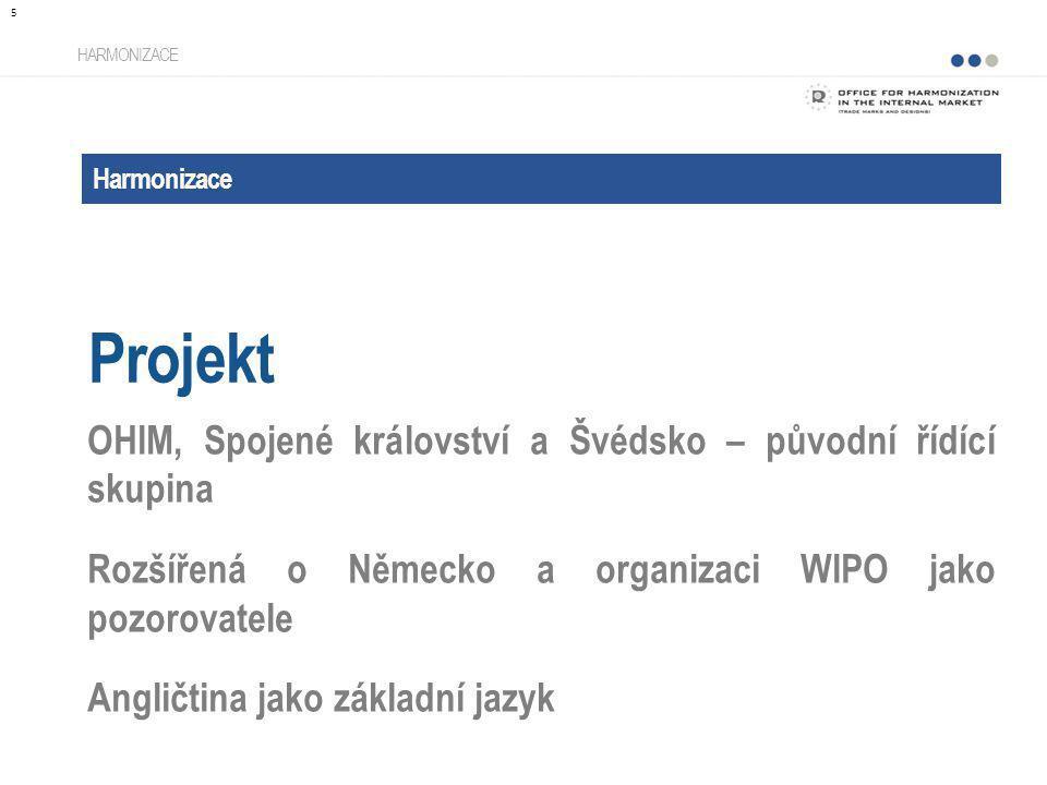 Projekt OHIM, Spojené království a Švédsko – původní řídící skupina