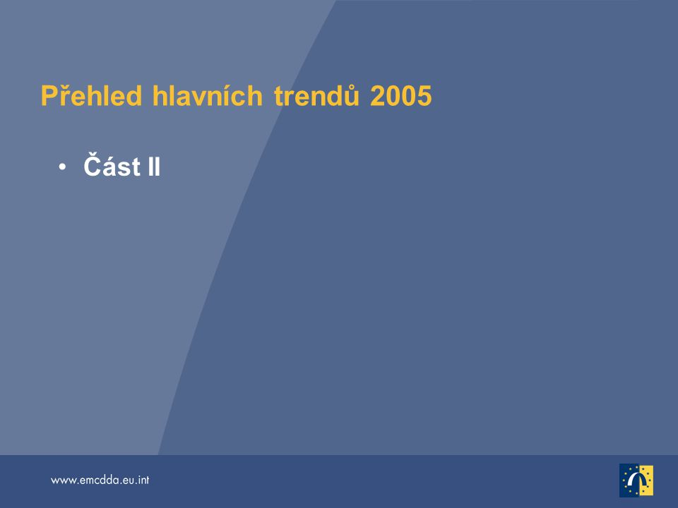 Přehled hlavních trendů 2005