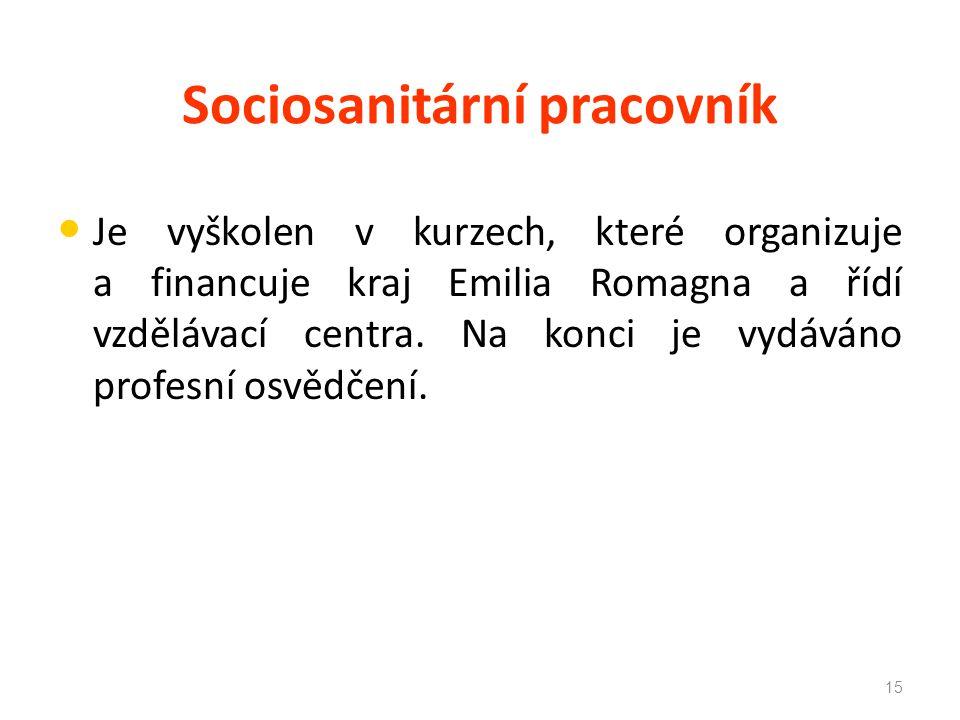 Sociosanitární pracovník