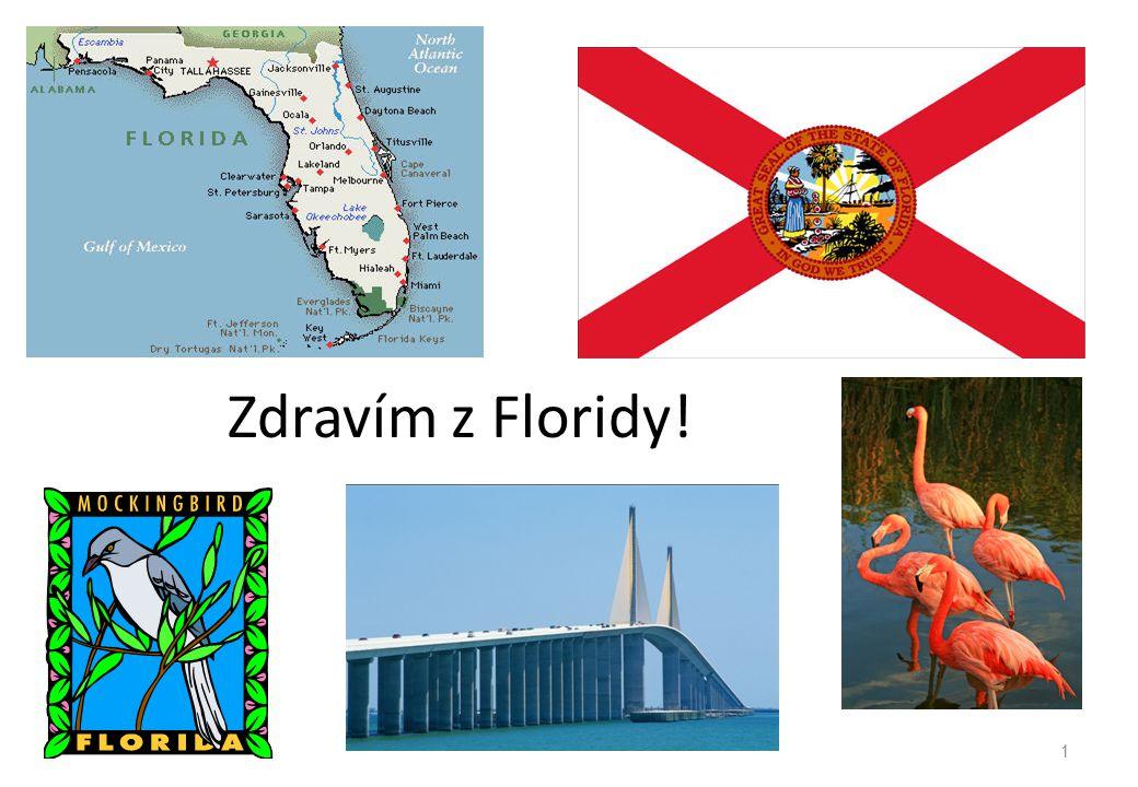 Zdravím z Floridy!