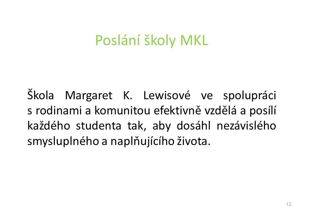 Poslání školy MKL