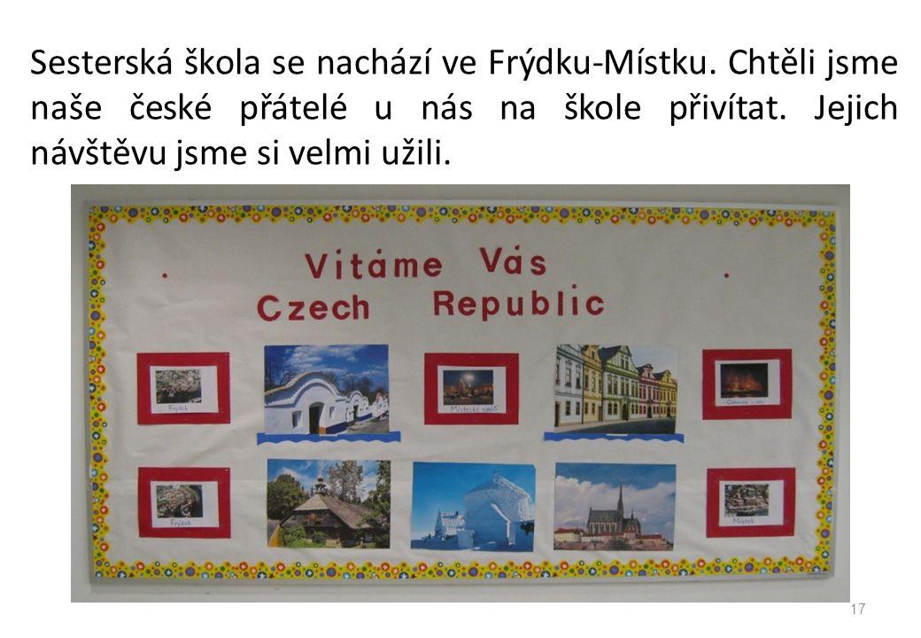 Sesterská škola se nachází ve Frýdku-Místku