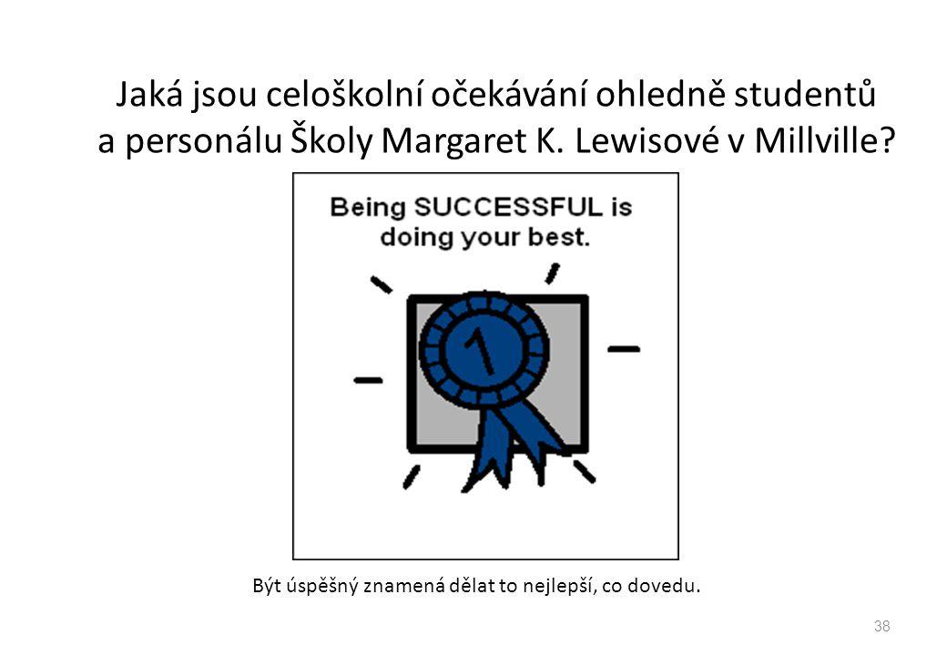 Být úspěšný znamená dělat to nejlepší, co dovedu.