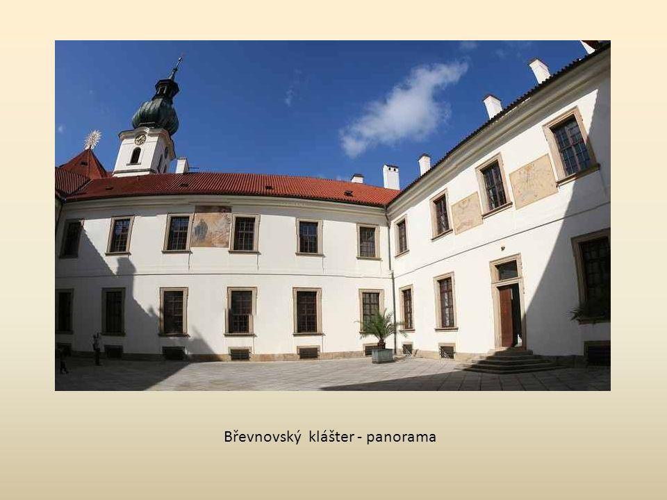 Břevnovský klášter - panorama