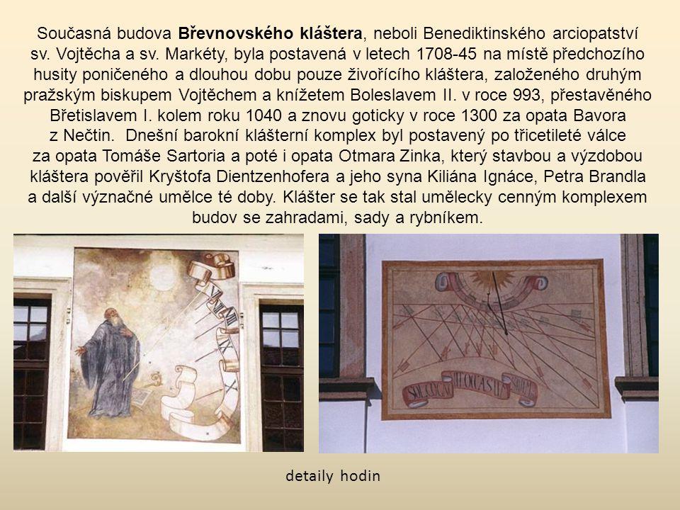 Současná budova Břevnovského kláštera, neboli Benediktinského arciopatství