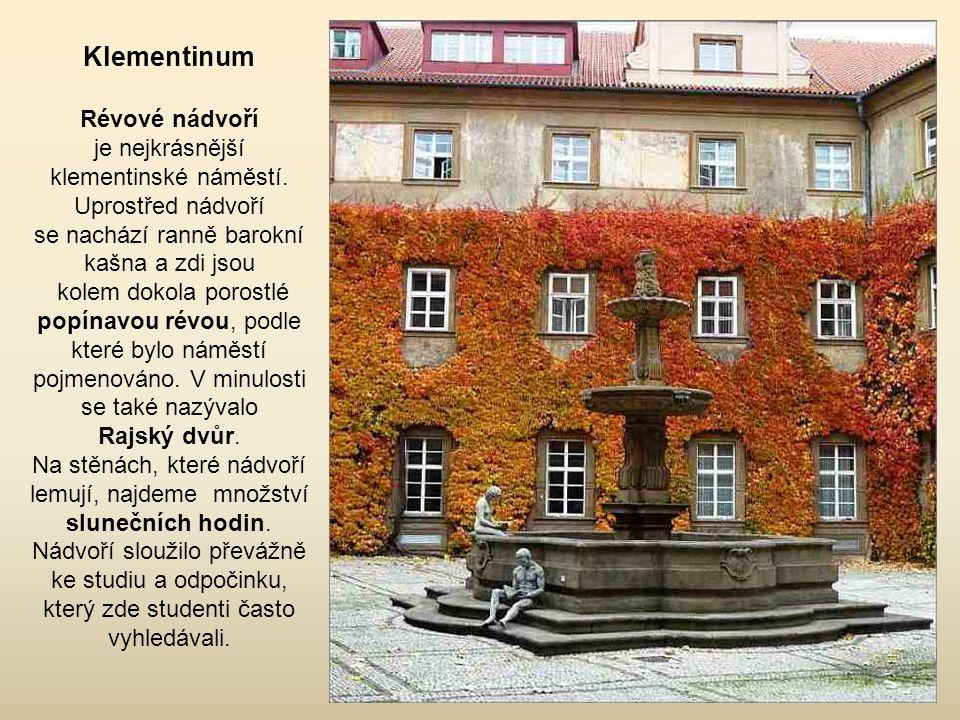 Klementinum Révové nádvoří