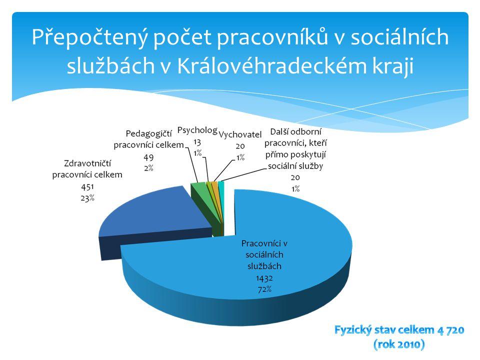 Fyzický stav celkem 4 720 (rok 2010)