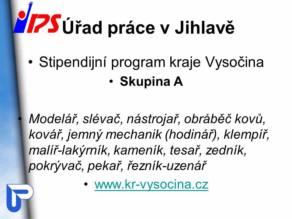 Stipendijní program kraje Vysočina