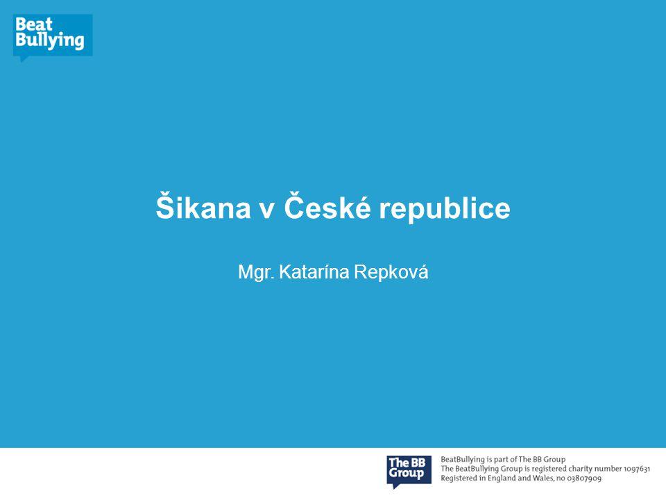 Šikana v České republice