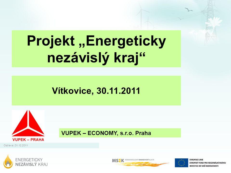 """Projekt """"Energeticky nezávislý kraj"""